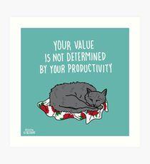 Your Value Art Print