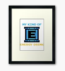My Kind of Energy Drink Framed Print