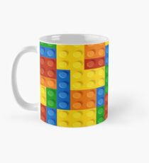 Mug colored tetris gamer. Mug