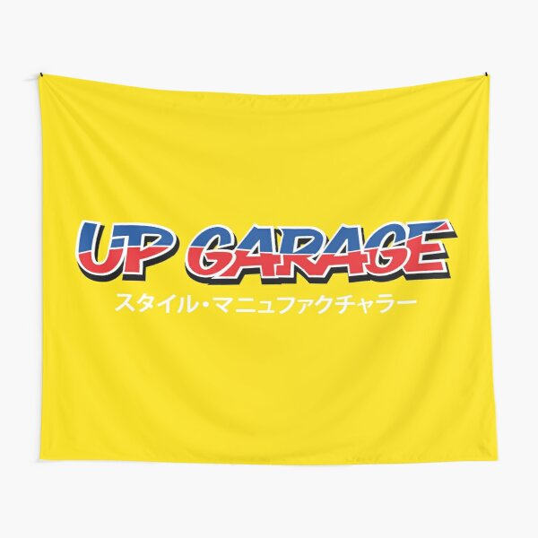 UP Garage Tapestry