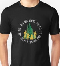 Who You Meet - Oz Inspired Collectibles Unisex T-Shirt