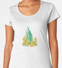 Who You Meet - Oz Inspired Collectibles Women's Premium T-Shirt