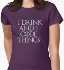 Code Things Womens Fitted T-Shirt