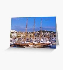 Palma Harbour Greeting Card