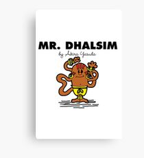 Mr Dhalsim Canvas Print
