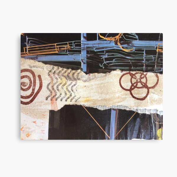 Collage Pipes Canvas Print