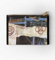 Collage Pipes Studio Pouch
