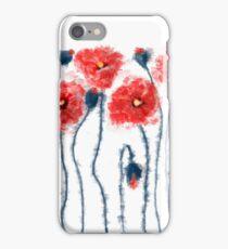 Oil poppy  iPhone Case/Skin