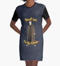 Trust me, I'm the Doctor (10) Graphic T-Shirt Dress