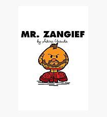 Mr Zangief Photographic Print