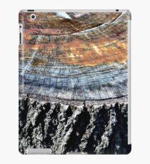 Tree Stump Bark and Rings  iPad Case/Skin