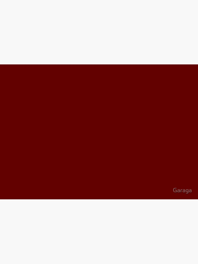 Burgundy Red Solid Color Decor by Garaga