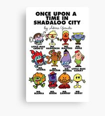 Once Upon A Time in Shadaloo Canvas Print