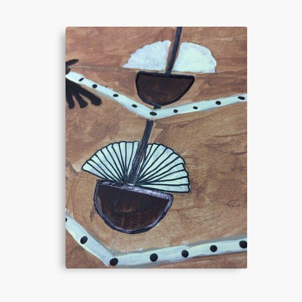 Tribal Coconut Canvas Print