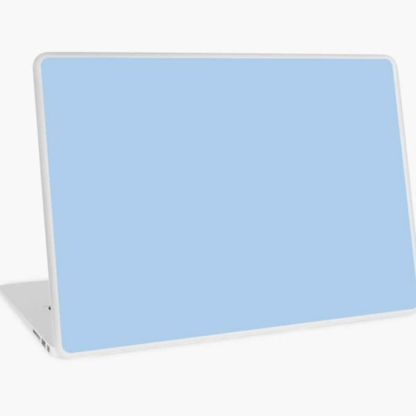 Baby Blue Solid Color Decor Laptop Skin