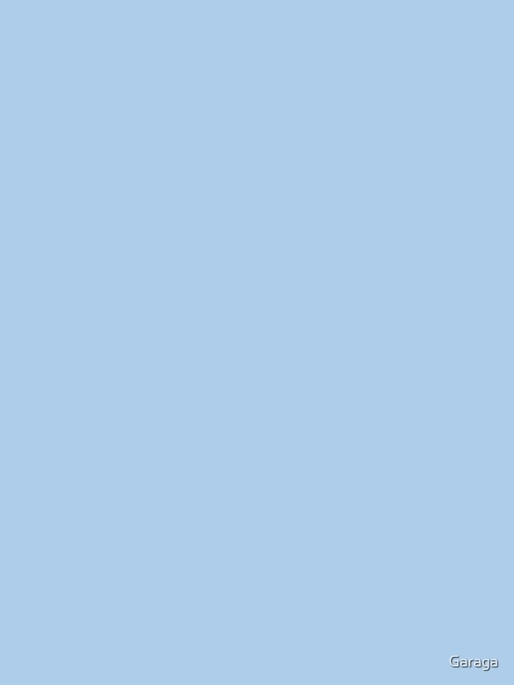 Baby Blue Solid Color Decor by Garaga