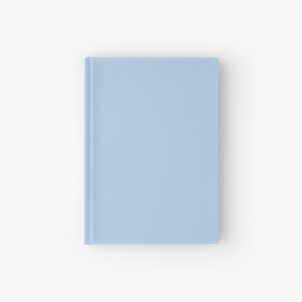 Baby Blue Solid Color Decor Hardcover Journal