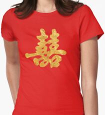 Double Happiness - Faux Gold Leaf T-Shirt