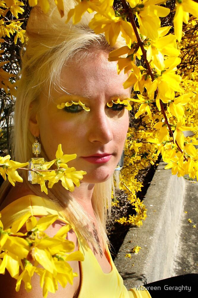 Flower Power! by Maureen  Geraghty
