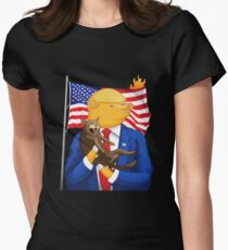 American Catastrophe II Womens Fitted T-Shirt
