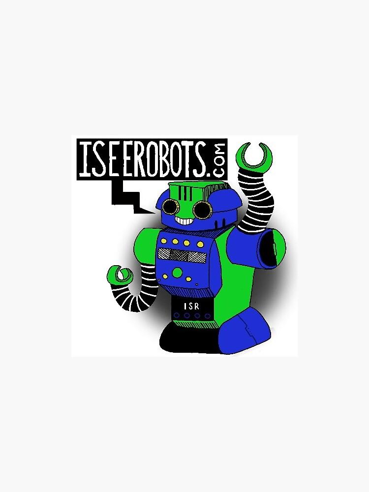 IseeRobots Robo Force Sticker by IseeRobots