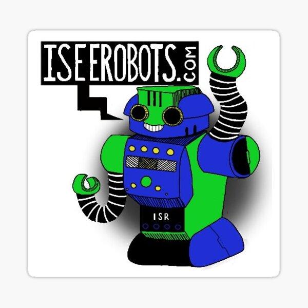 IseeRobots Robo Force Sticker Sticker