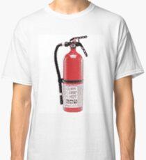 Fire Extinguisher Pixel Art Classic T-Shirt