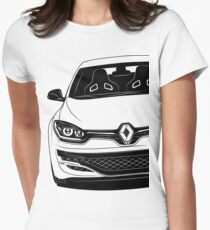 Renault Megane RS FaceLift 275 2014 Trophy Best Shirt Womens Fitted T-Shirt