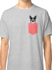 Kennedy - Boston Terrier customizable dog gifts for pet owners and Boston Terrier gifts for dog lovers Classic T-Shirt