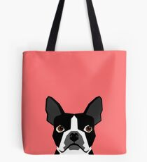 Kennedy - Boston Terrier customizable dog gifts for pet owners and Boston Terrier gifts for dog lovers Tote Bag