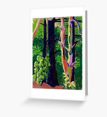 Trees in the Woods Greeting Card