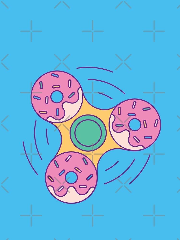 Doughnut Fidget Spinner by Millusti