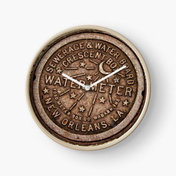 New Orleans Water Meter Cover Clock