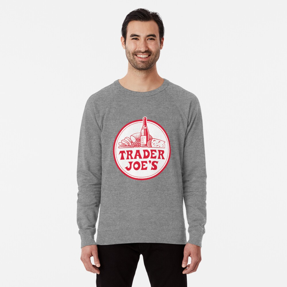 Trader Joe's Grocery Store Lightweight Sweatshirt