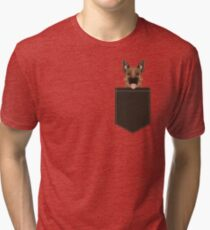 Skylar - German Shepherd gift ideas for dog person and dog people gifts Tri-blend T-Shirt