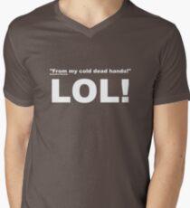 Charlton Heston Men's V-Neck T-Shirt