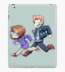 The Doctor and Her Assistant iPad Case/Skin