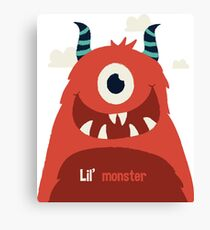 Lil' Monster Canvas Print