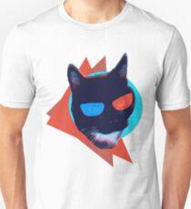 3D Glasses Flashback Cat Unisex T-Shirt