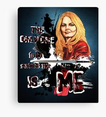 Emma Swan - The only one who saves me is me Canvas Print