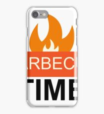 Barbecue Party Time iPhone Case/Skin