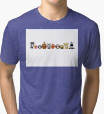Group Of Cute Animals Tri-blend T-Shirt
