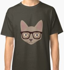 Mr. Smart Cat Classic T-Shirt