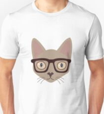 Mr. Smart Cat Unisex T-Shirt