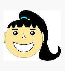 Girl Smiling 1 Photographic Print
