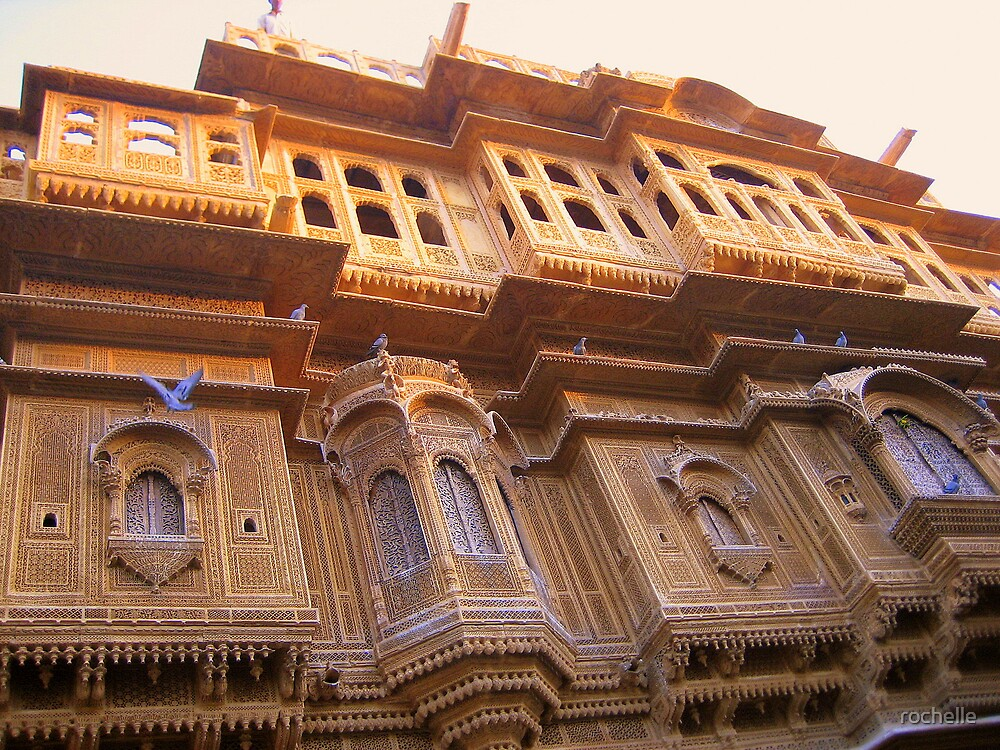 Havelli Jaisalmer, India by rochelle