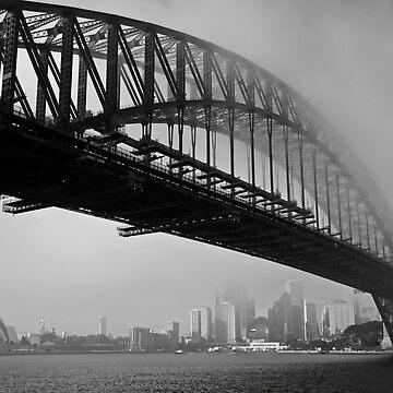 Sydney Harbour Fog by Snelvis