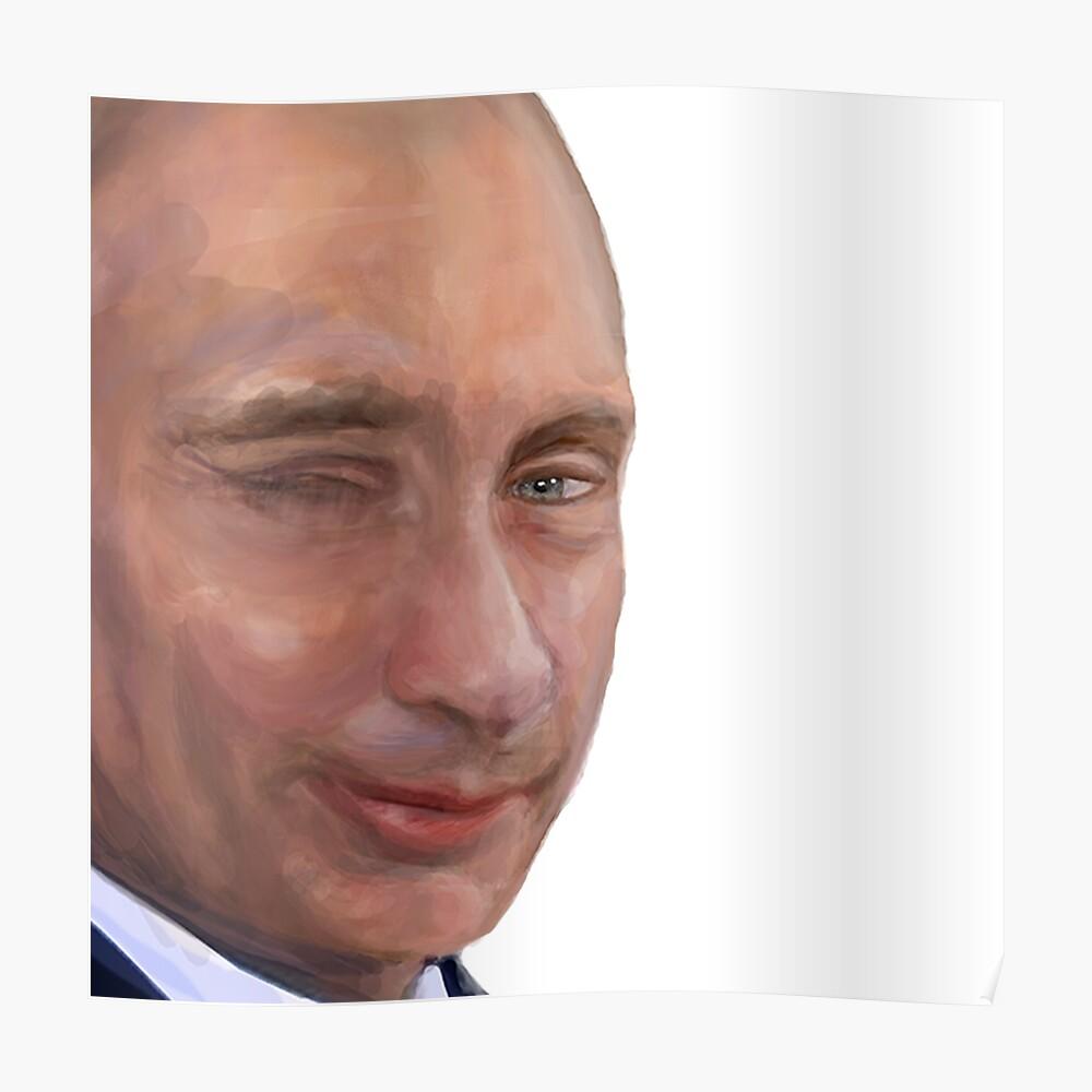 Putin Wink Poster