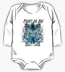 Fight Or Die One Piece - Long Sleeve