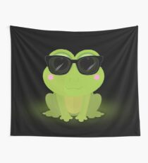 Cool Frog Wall Tapestry